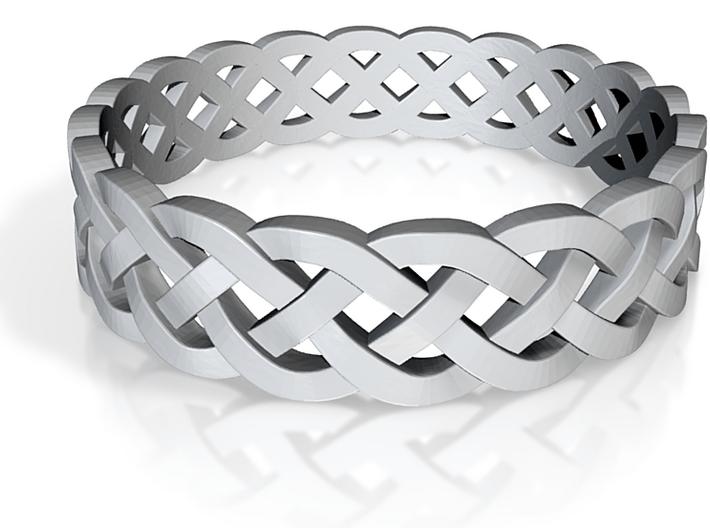 Rohkea Bold Celtic Knot Size 8 3d printed