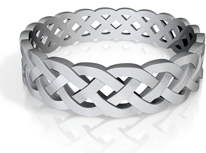 Rohkea Bold Celtic Knot Size 12 3d printed