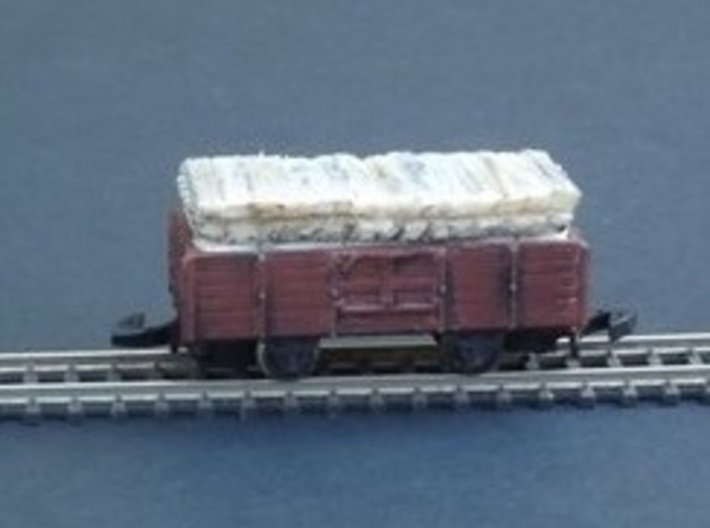 Wagon Chassis Pack 1 - Nm - 1:160 3d printed