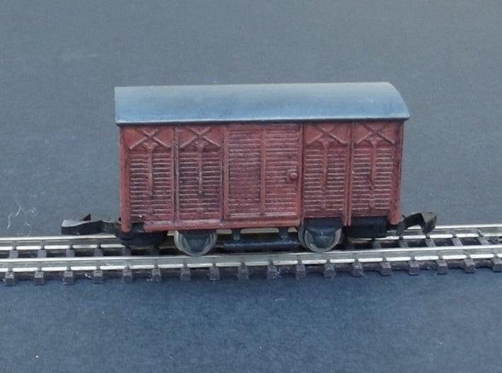 Wagon Set 4 - 3 x Couvert - Nm - 1:160 3d printed