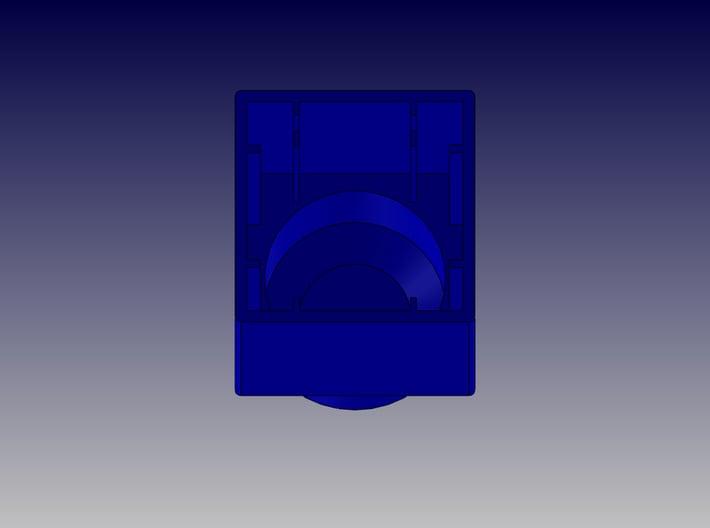 SINGLE BLOCK 3d printed Single Block-Bottom View