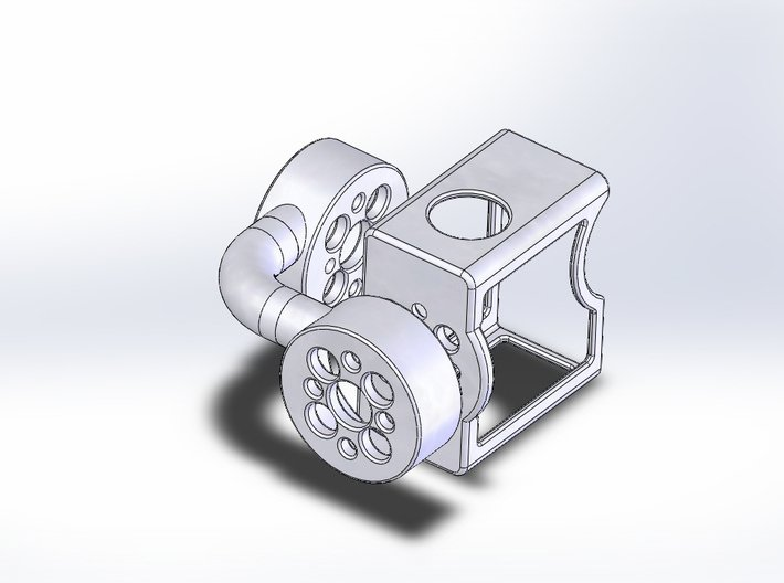 GoPro Gimbal 3d printed