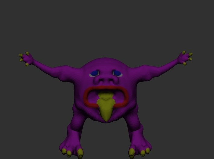 Adra's Creature Squatty 3d printed
