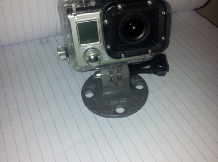 GoPro Style Heavy Duty Mount 3d printed