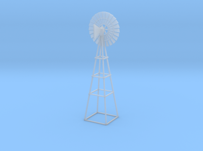 Windmill - Zscale 3d printed
