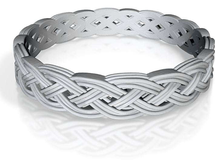 Hieno Delicate Celtic Knot Size 5 3d printed