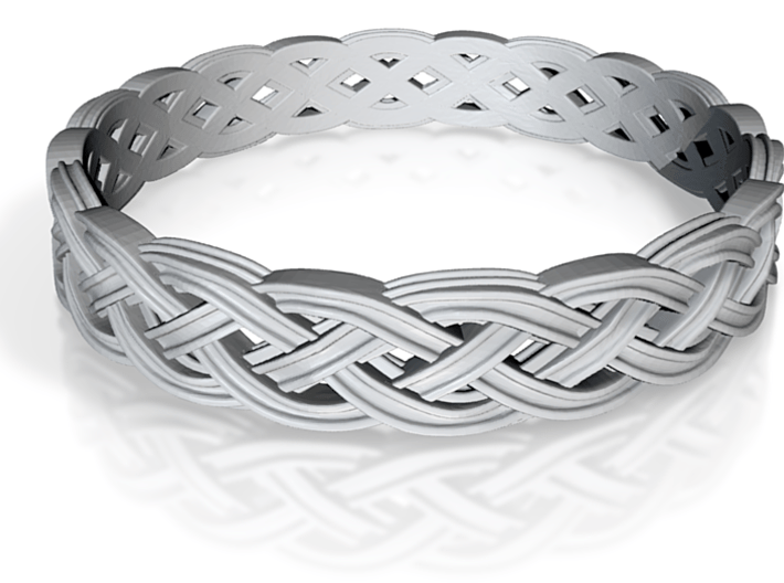 Hieno Delicate Celtic Knot Size 8 3d printed