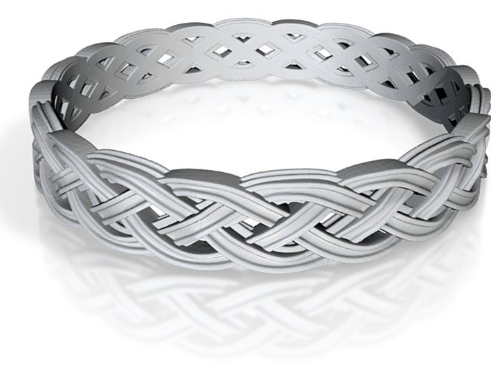 Hieno Delicate Celtic Knot Size 8.5 3d printed