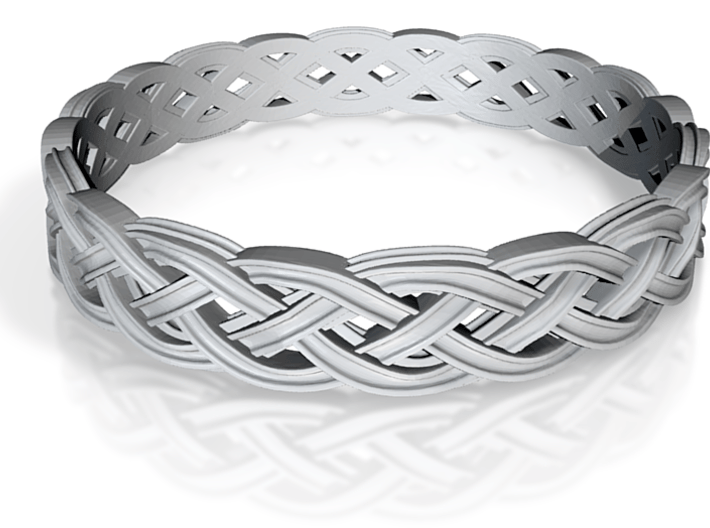 Hieno Delicate Celtic Knot Size 10 3d printed
