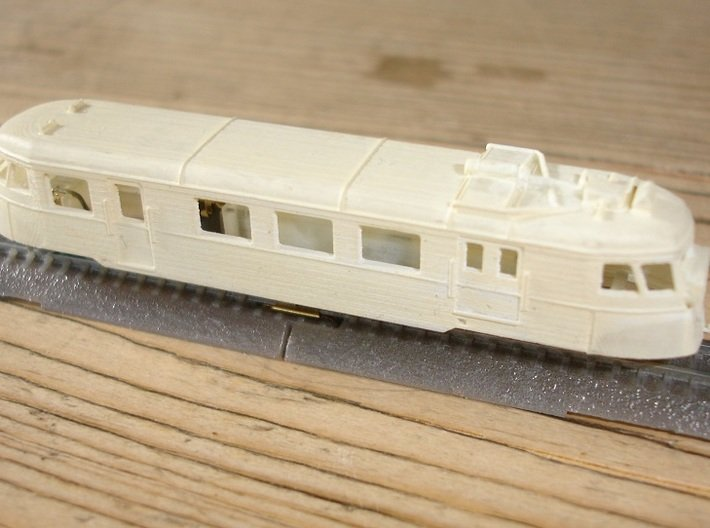 A150D No farings + chassis adapter - Zm - 1:220 3d printed