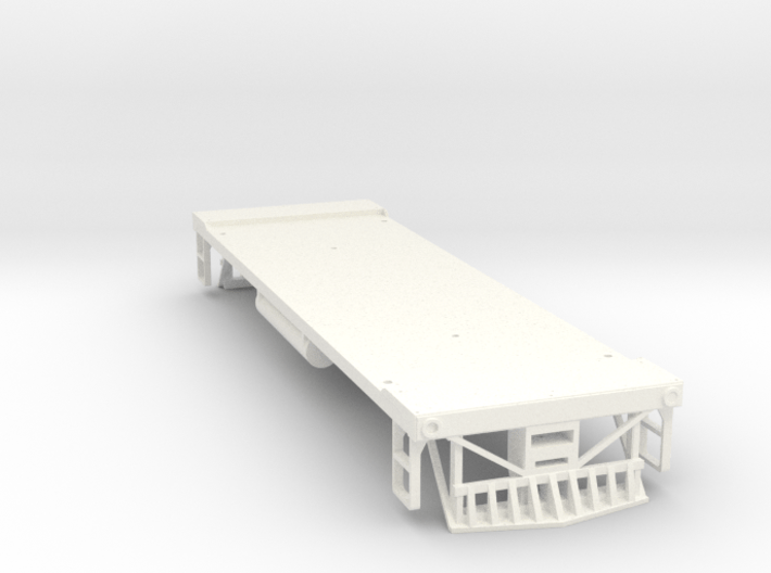 O Scale 35 Ton GE Boxcab Frame (Kitbasher's) 3d printed