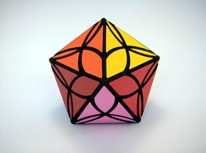 Diamond Delight Puzzle 3d printed End View