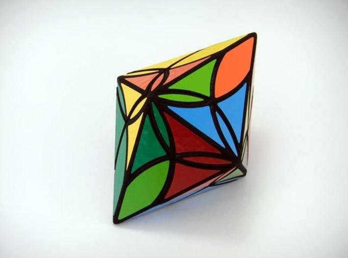 Diamond Delight Puzzle 3d printed Two Turns