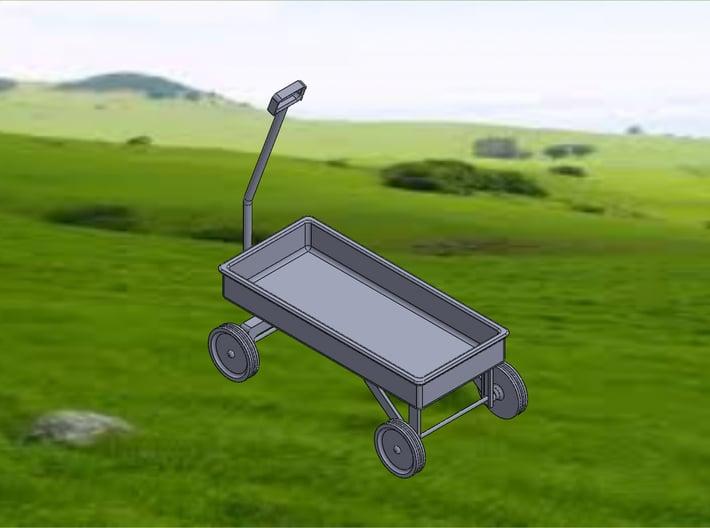 WAGON 3d printed Wagon-Isometric View