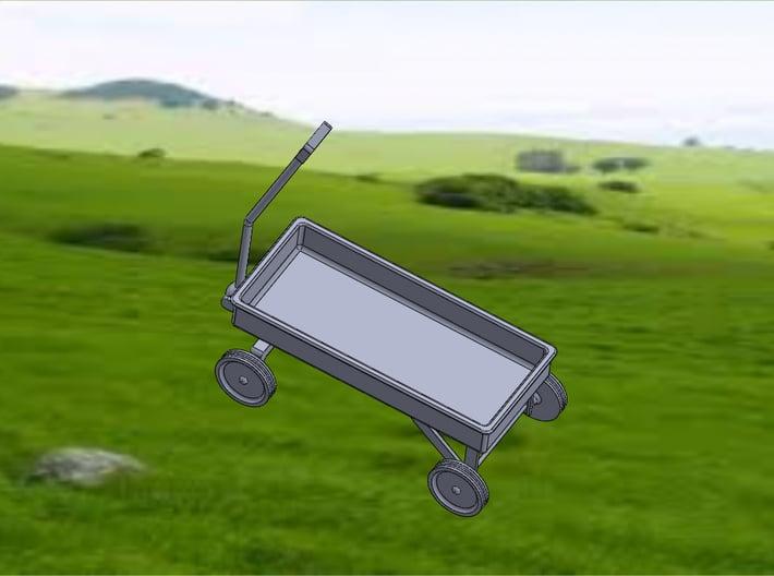 WAGON 3d printed Wagon-Top View