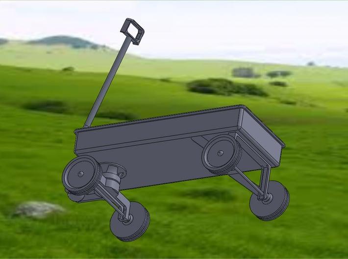 WAGON 3d printed Wagon-Bottom View
