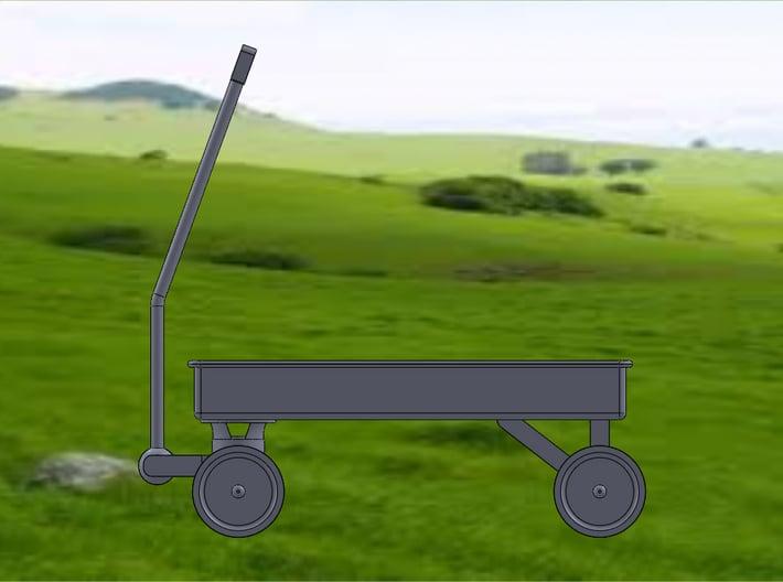 WAGON 3d printed Wagon-Side View