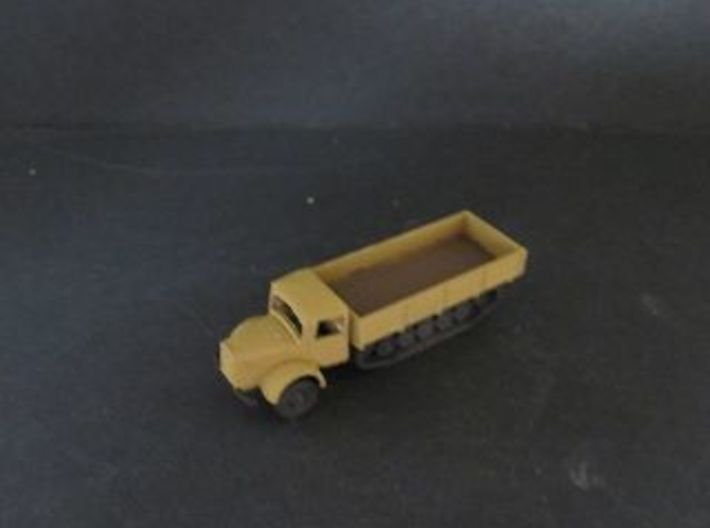 1/144 Mercedes MB 4500 Maultier 3d printed