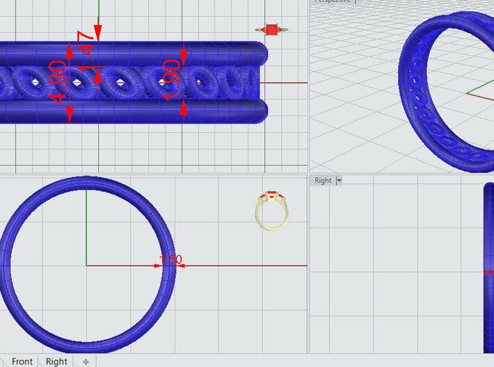GBW6 Wmns Loop Band 3d printed