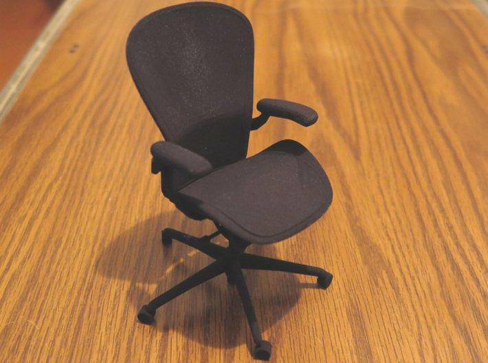 "Aeron Chair PostureFit 4.8"" tall 3d printed"