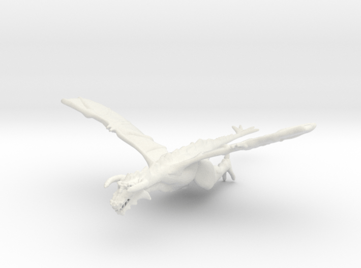 Omni Scale Space Dragon Old Male MGL 3d printed