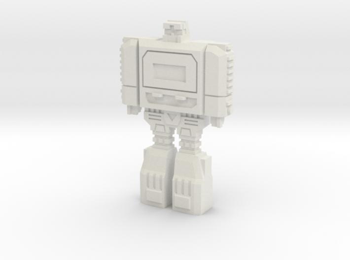 Retro Time Robot 3d printed