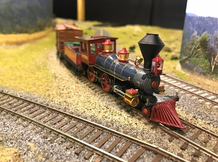 CK Holliday - Sand Dome 1:55 (works w/HO) 3d printed