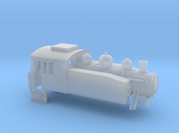 USA Tank - Z - 1:220 3d printed