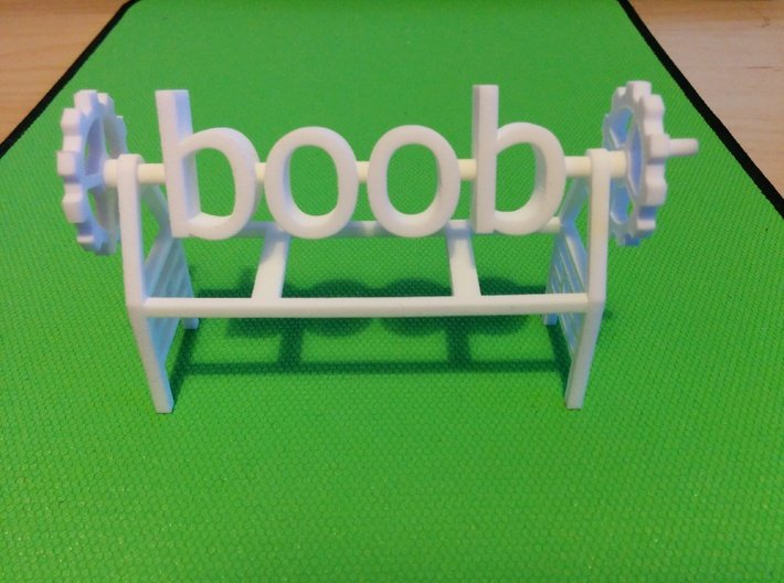 boob poop! 3d printed This is the original model I made, the one being offered has been optimised to be cheaper to produce