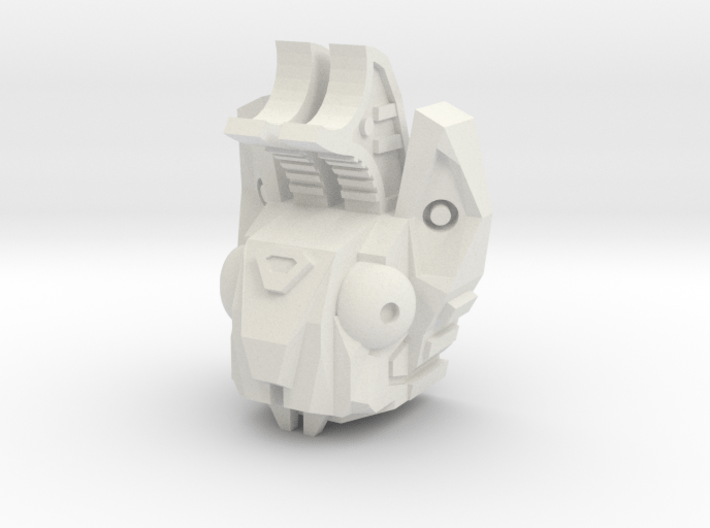 PotPie Fist Head: Cyber-Jackalope 3d printed