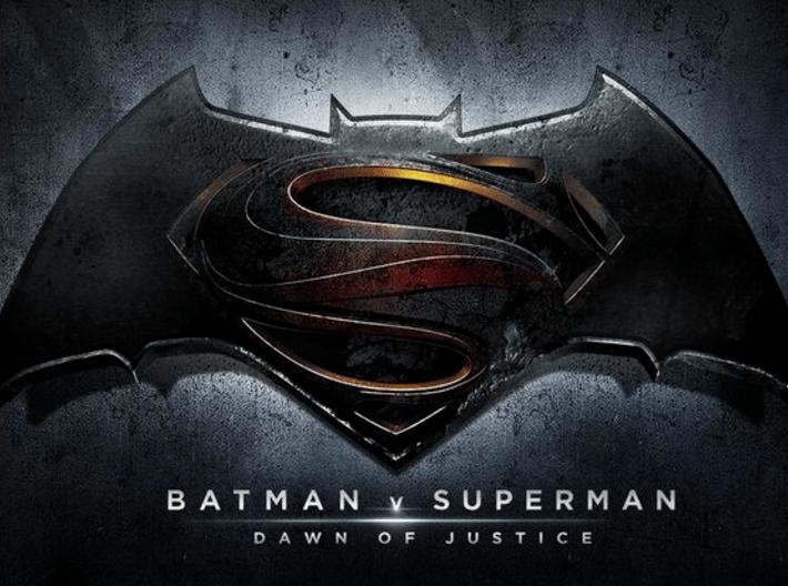 Batman vs Superman PENDANT 3d printed