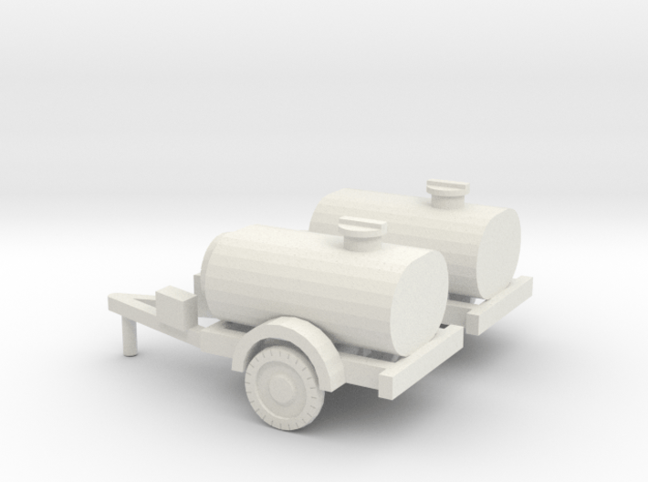 1/120 set of two water trailers 3d printed