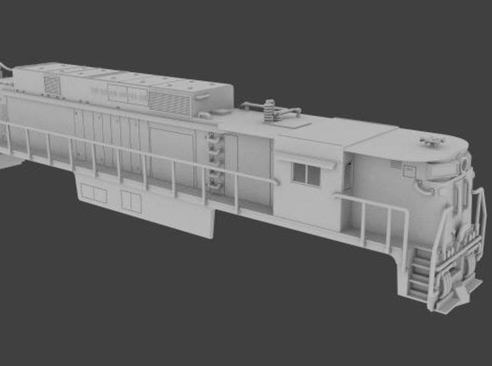 NE3302 N scale E33 loco - Virginian  3d printed