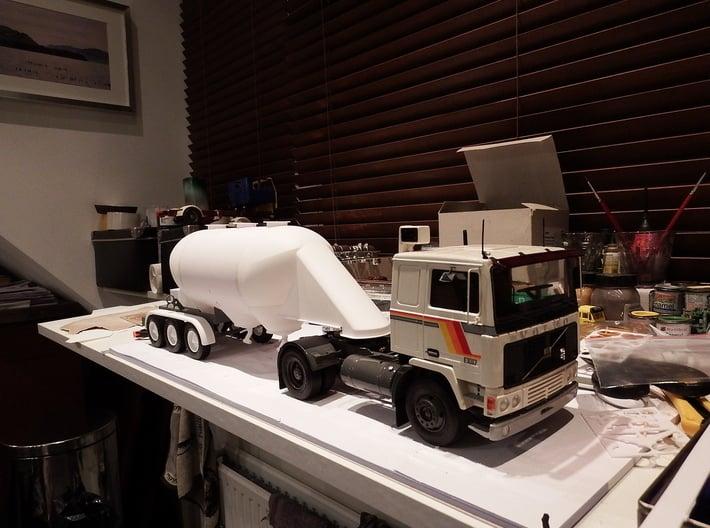 Front Bulk Head for Retro Euro Bulk Tanker 3d printed