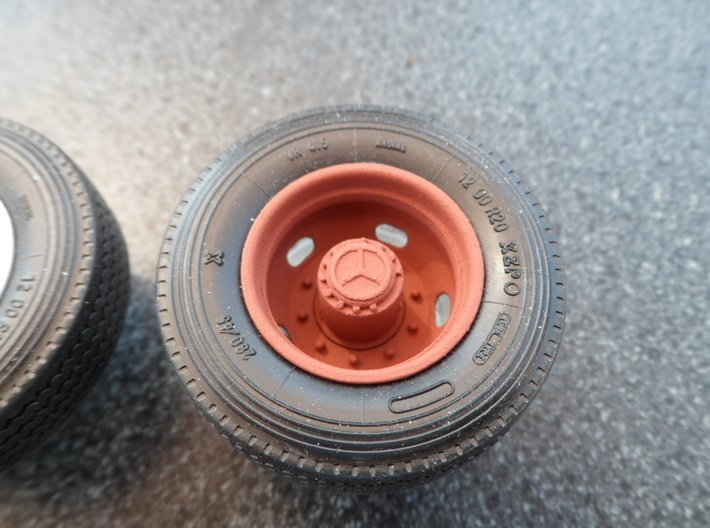 5-Hole Rear Rims with Mercedes Hub 3d printed