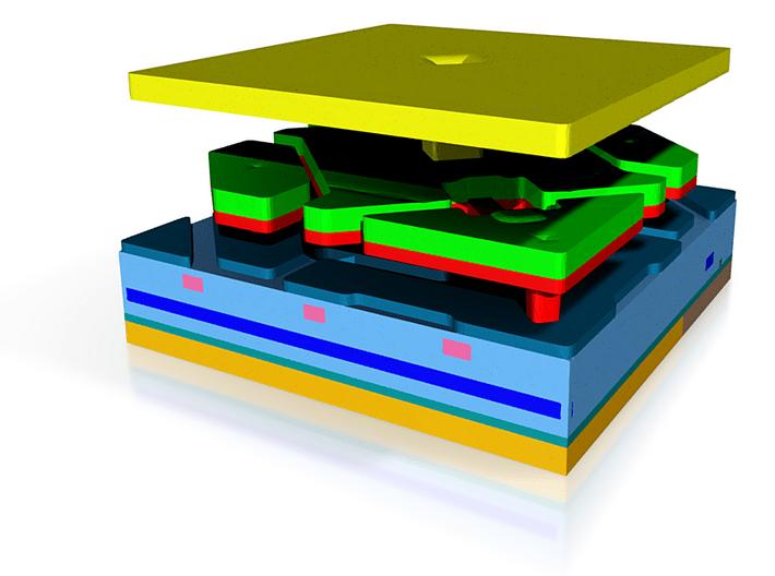 MEMS Display Mirror Model 3d printed