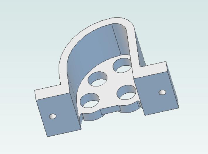 PL-4 Dwarf signal  Pennsy RR 4 heads 3d printed rear screenshot