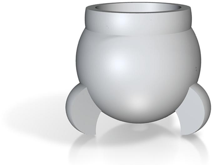 Rocket Eggcup 3d printed Rocket Eggcup