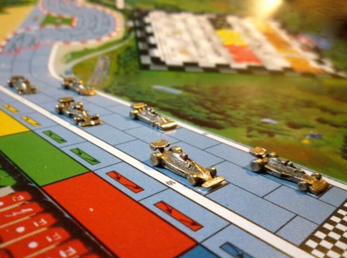 Formula 1 Miniatures - 1976 3d printed Startline at Spa