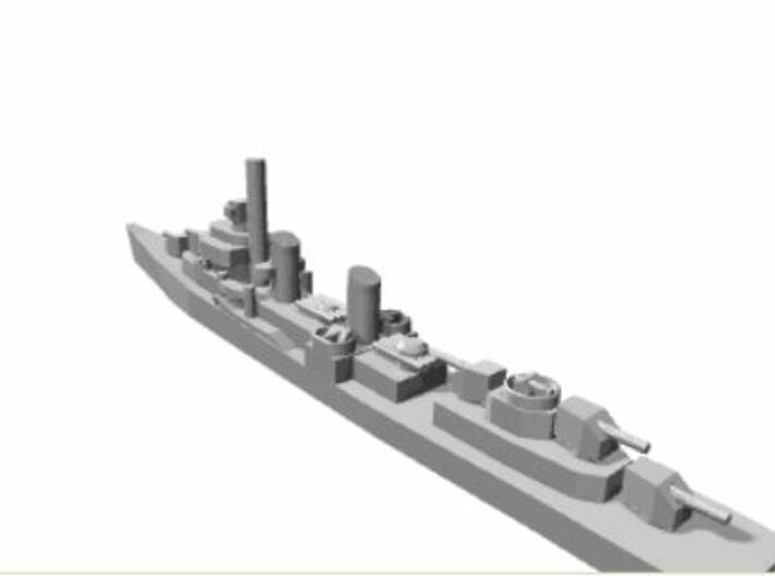 USN Fletcher class x6 1/4800 3d printed