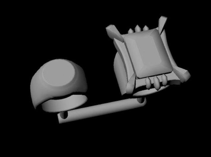 BJD, MSD Cosplay Ring Set, 1. 3d printed