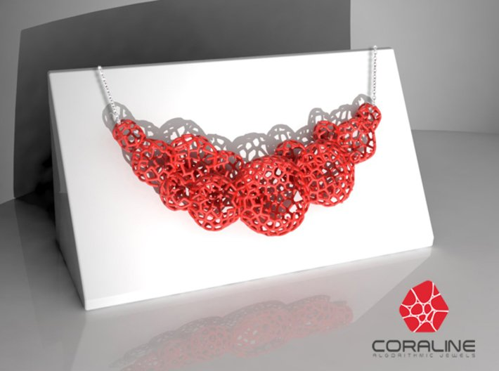 Star Coral Necklace 3d printed