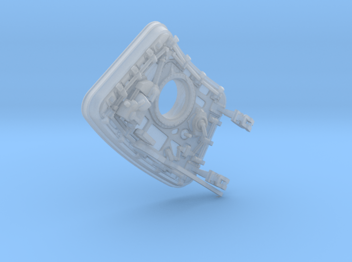 CM open hatch 3d printed