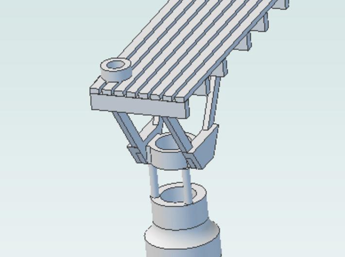 Signal Bracket  (1)  no Heads with Deck 3d printed screenshot