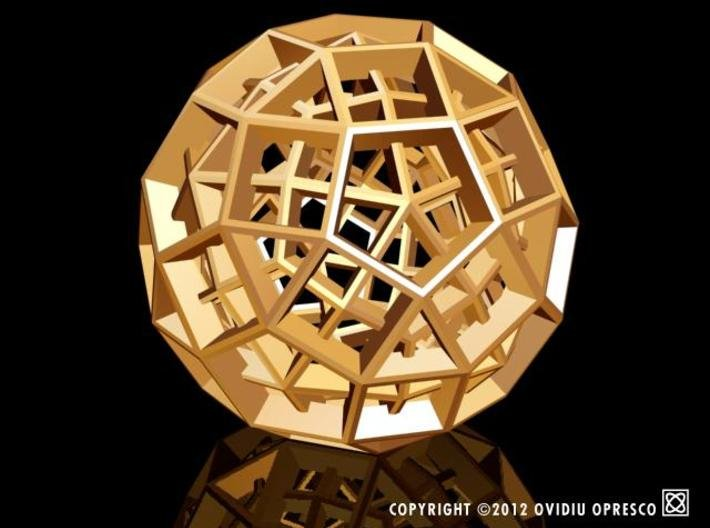 Polyhedral Sculpture #30C 3d printed