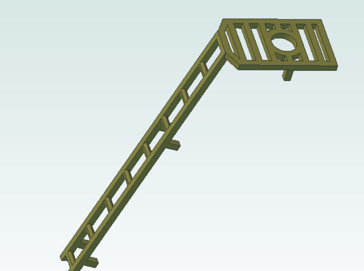 ladders 4 8ft BRASS 3d printed Screenshot single ladder