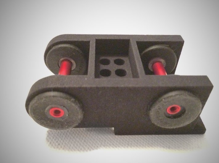 TBS Discovery Gimbal Mount 3d printed Back side of mount