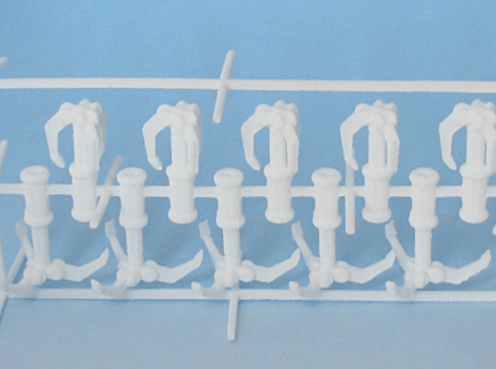 10 grappling hooks 3d printed