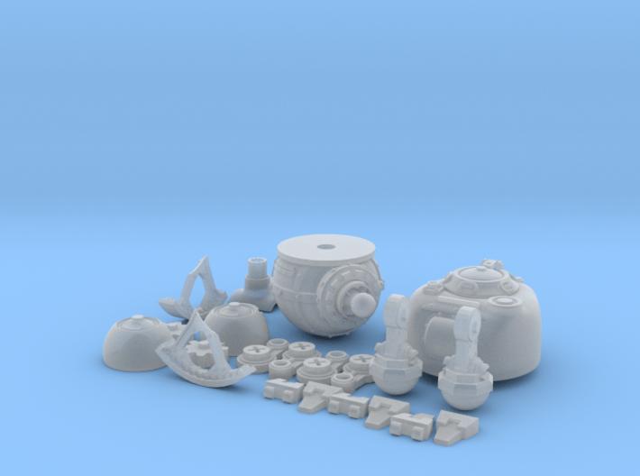 Chicken Tank: A Diesel-Punk Mech 3d printed