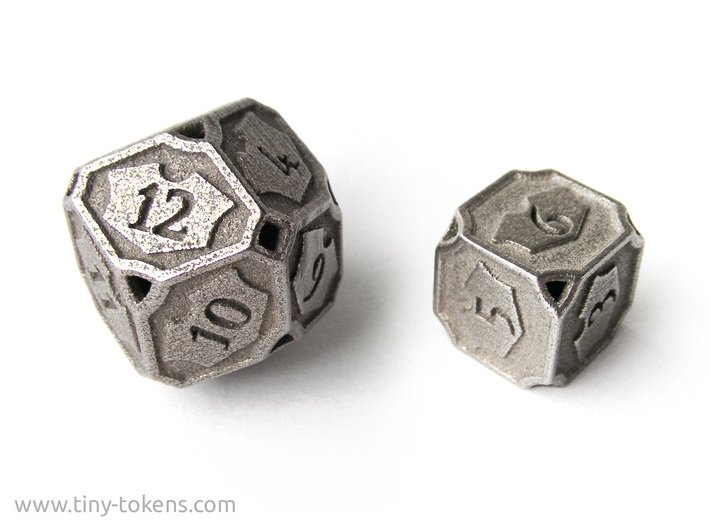 Planeswalker Loyalty D6 (Version 2) 3d printed A 12 sided version is also available in my shop